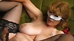 Unforgettable Brunette Shorhair-Milf with Huge-Boobs