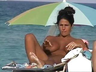 Big Tit Milf At Nude Beach