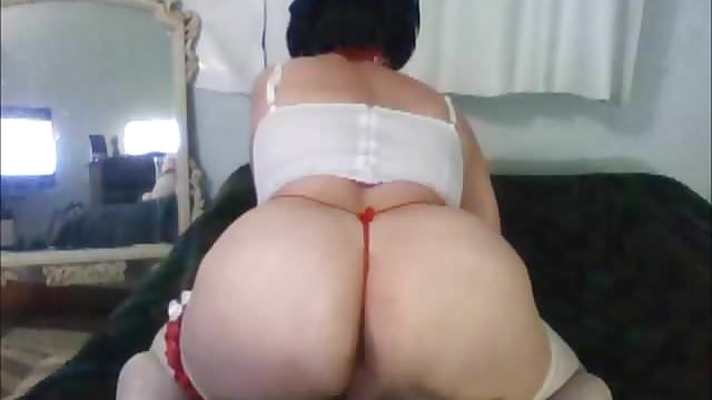 Preview 1 of big butt shemale nely  tranny ladyboy bigass selfcum bitch