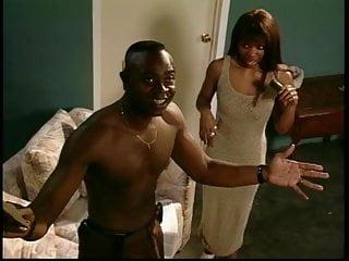 Black slut gets screwed in the cellar