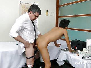 Preview 5 of Doctor Daddy Barebacks Asian Boy Nishi