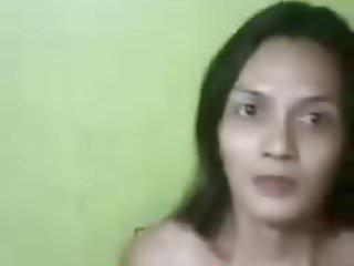 filipino shemale girl doing skpe cam sex-p1
