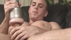 Sexy dude Lann knows how to use sex toys to his advantage