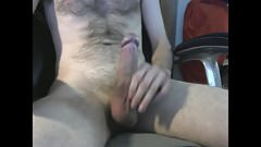 Cumshot from long edging session