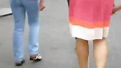 High heels in Ukraine 07 orange heels, golden heels