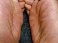 Just lotioned my feet