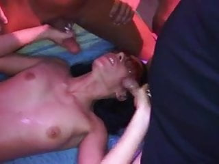 Group fuck Patrycja in private club