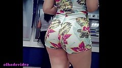 big ass perfect blonde hot in bank E 258
