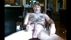 Married hairy Jim shows it all
