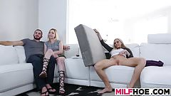 Drilled Stepma Is A Camgirl Too