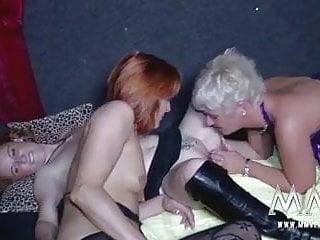 MMV FILMS German Amateur Teen and Mature Lesbians