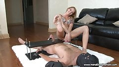 Beautiful foot mistress shows off her pretty feet's Thumb