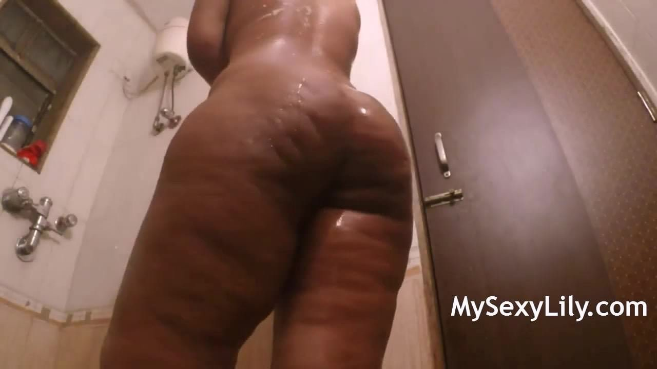 In shower ass big her masturbating lily sexy shaking think, that you