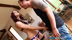 Cuckolding babe swallows