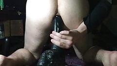 dildo anal jouir en rafale