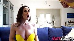 Kendra Lust fucks two big dicks to avoid eviction