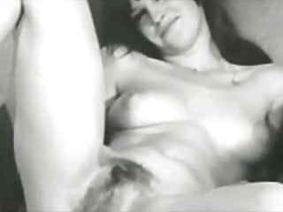 Vintage Models Showing Pussy Bw Vol