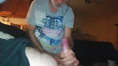 dutch grandpa gives me a great blowjob and eats my cum