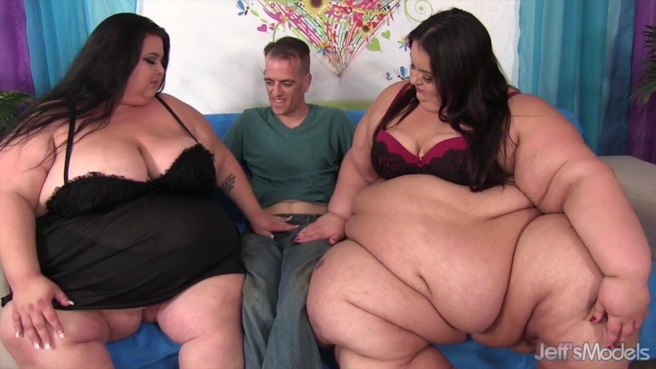 Inviting apple bomb into a ssbbw threesome