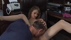 Skinny Teen Great Anal Work