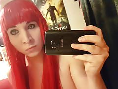 German Red Hair Bunny Femboy Tranny Hottest on Earth