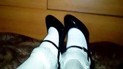 Patent mary janes heels
