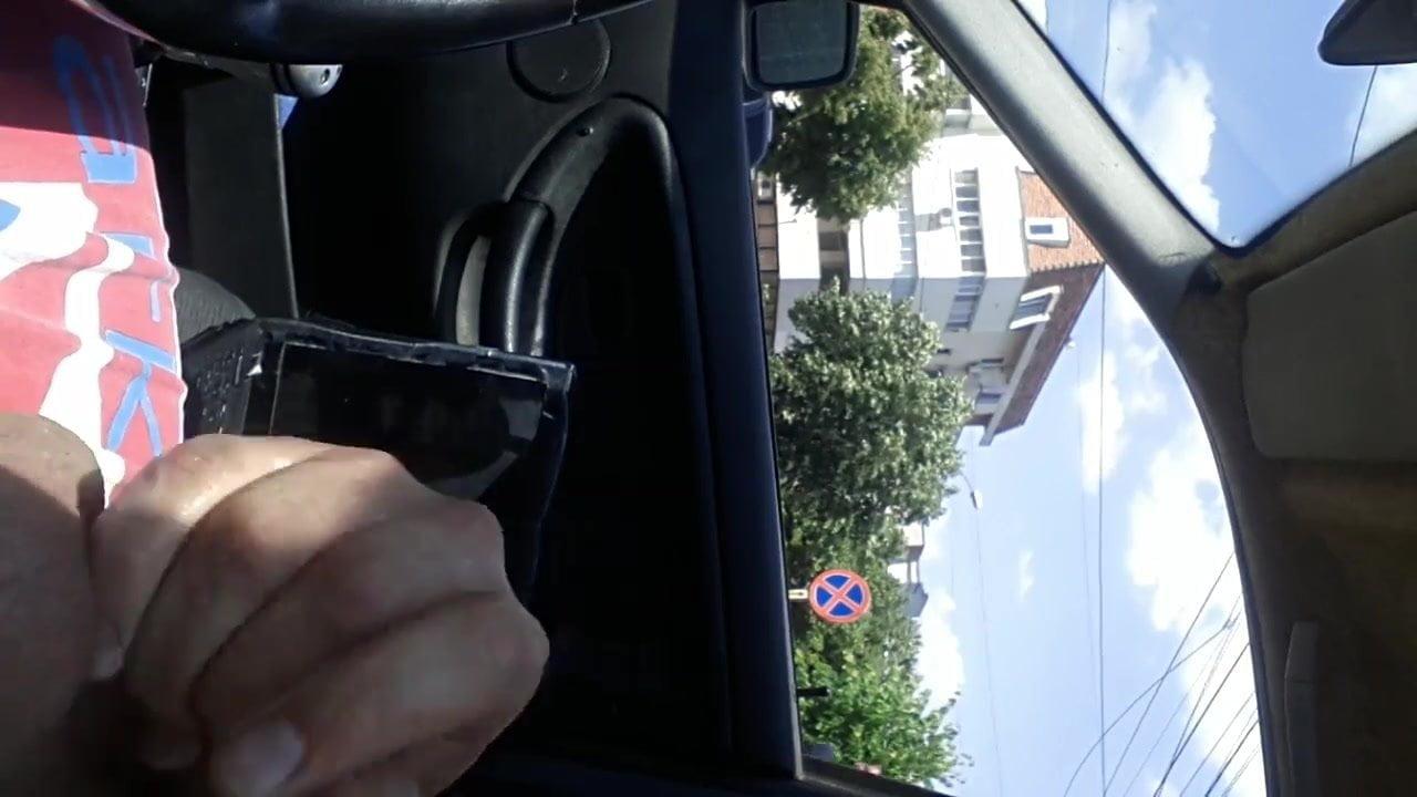 Flashing car video 13