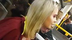 Spy teen voyeur closes up