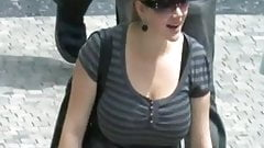 huge boobs candid