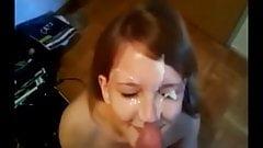 Cum in face Compilation