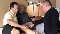 Mature Gay Threesome - Pt.1