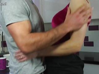 Download video bokep UK Mature MOM fucks her son's friend Mp4 terbaru