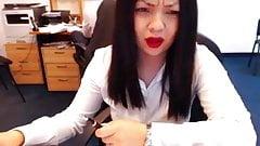 webcam at work
