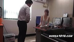 Korean porn HOT Korean Boss La