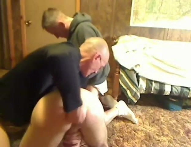 Gay master dominates submissive man