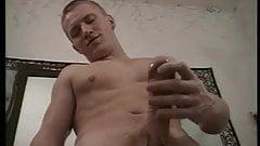 Handsome Guy Licks Fleshlight