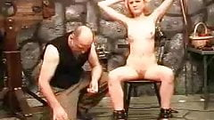 Slave girl punished by master (Sado Slaves)