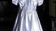 White Wedding Satindress 2014-03