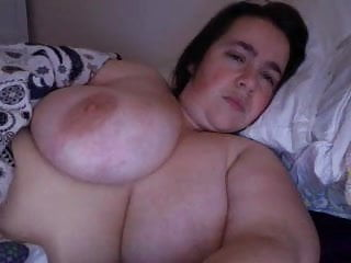 Webcams 2014 - BBW w Big Tits & Big Areolas 1