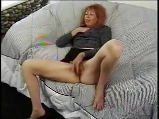 Hot Milf Gets Her Ginger Minge Poked AndA Creamy Face !