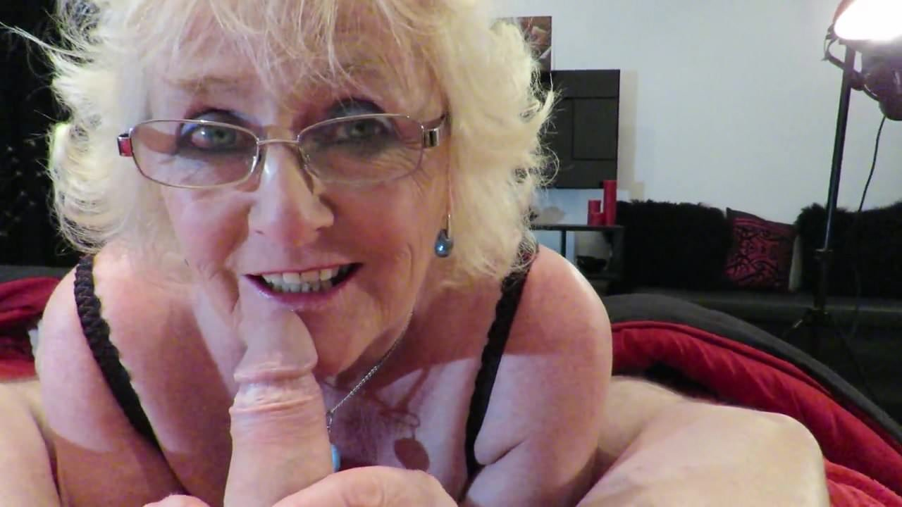Claire Grandma - Claire Knight Gets a Spunky Load Facial
