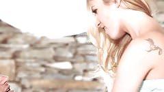 Babes.com - WHITE LEATHER - Le