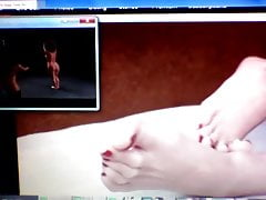 Feet and toes while watching TV's Thumb
