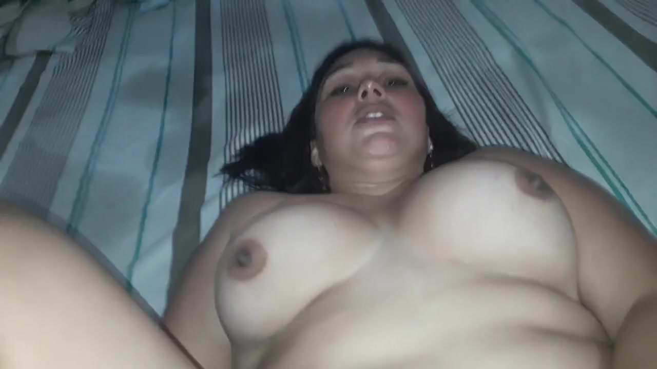 Shemale with big cock fucks girl