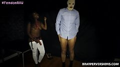 Unexpected Strap-on Sex with a Ebony Hottie