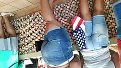 Booty meat mega mix in Popeyes