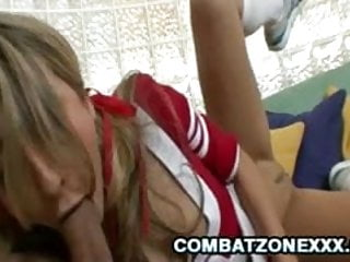 Teen babe Natalia Rossi slap a hard dick into her face