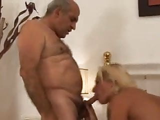 Old Weird Voyeur Join Couple For Sexe