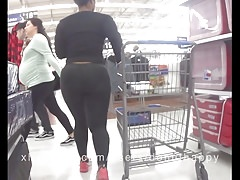 Candid short thick ebony vpl Thumbnail