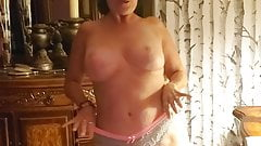 My wife does a short striptease